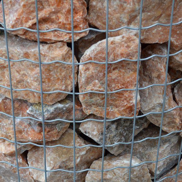 Calciet-oranje-edelsteen-1.5 kg.