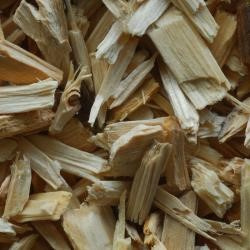 Bodembedekker naturel houtsnippers